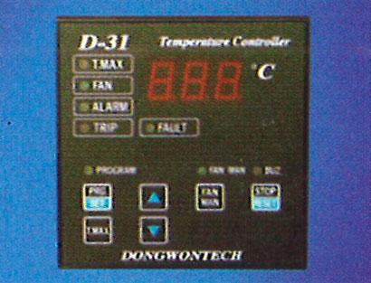 controles de temperatura transformador de resina