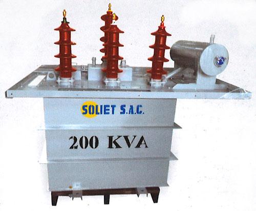 Transformadores de puesta a tierra ZIG - ZAG desarrollado por soliet